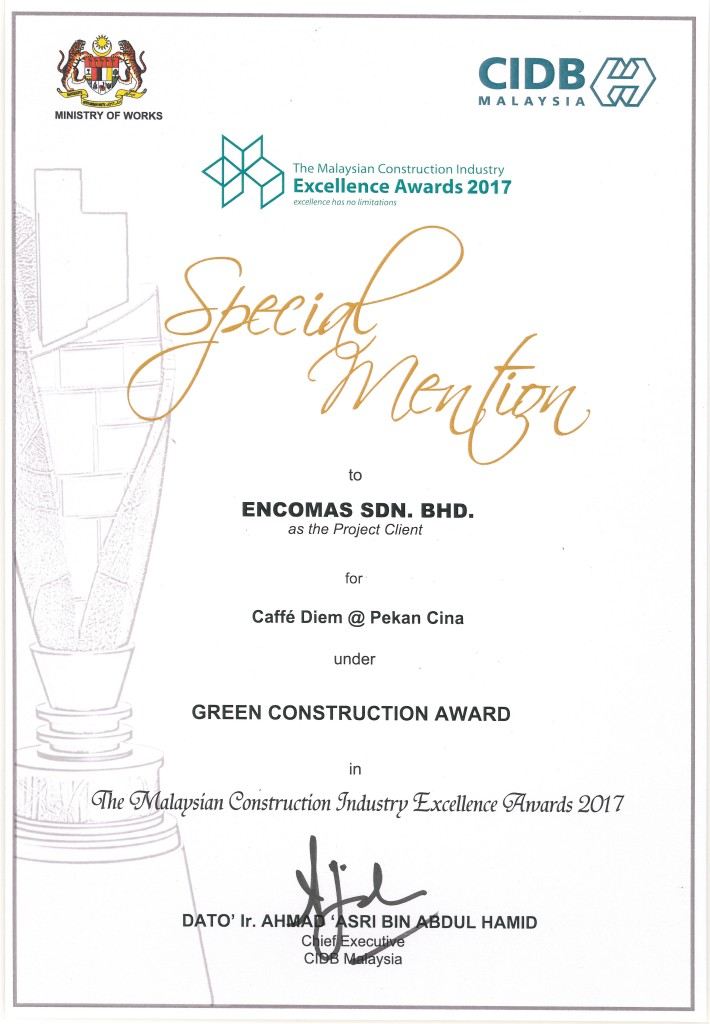 green construction award