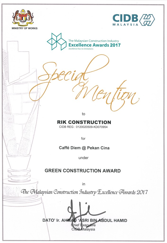 green contruction award